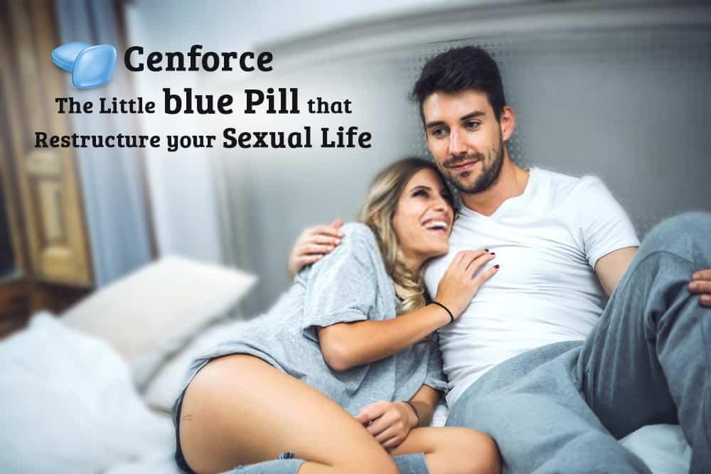 Cenforce: la pequeña píldora azul que puede reestructurar tu vida sexual