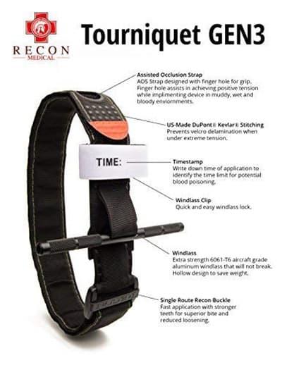 Recon medical tourniquet info
